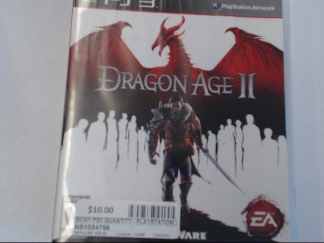 DRAGON AGE II PS3 GAME