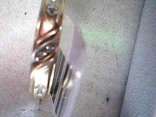 Lady's Diamond Wedding Set 3 Diamonds .03 Carat T.W. 10K Yellow Gold 3.6g