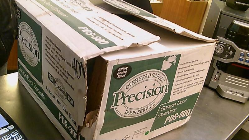 PRECISION OVERHEAD GARAGE DOOR SERVICE PDS-800