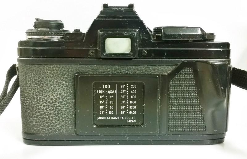 Minolta X-700 SLR 35mm Film Camera w/ Vivitar 28-105mm Macro Lens