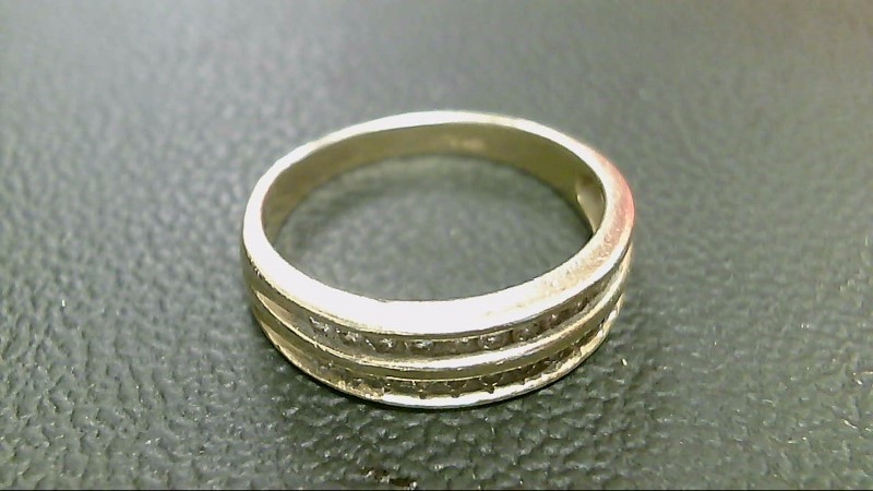 Lady's Diamond Fashion Ring 22 Diamonds .44 Carat T.W. 10K Yellow Gold 2.8g