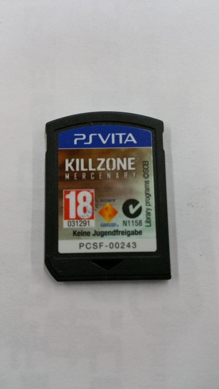 Sony Ps Vita Game Cartridge : Sony ps vita game psvita killzone mercenary good buya