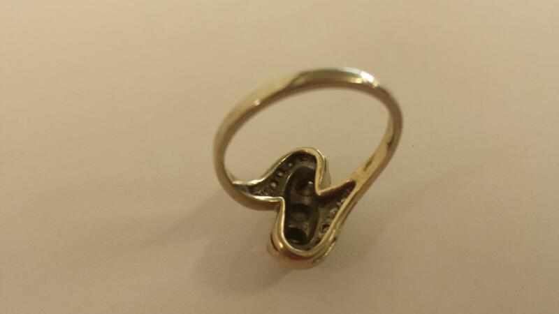 LDS 10KT Lady's Diamond Fashion Ring DIAMOND 17 Diamonds 1.07 Carat T.W.