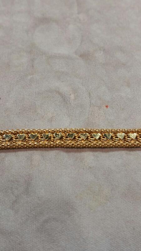 Gold Bracelet 14K Yellow Gold 4.3dwt