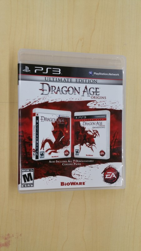 SONY Sony PlayStation 3 Game DRAGON AGE ULTIMATE EDITION