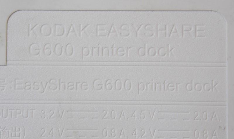 KODAK EASYSHARE G600 PRINTER DOCK WITH EXTRAS