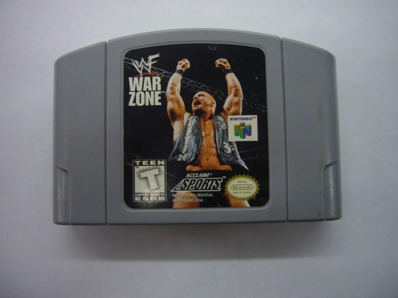 NINTENDO 64 Game WWF WAR ZONE *CARTRIDGE ONLY*