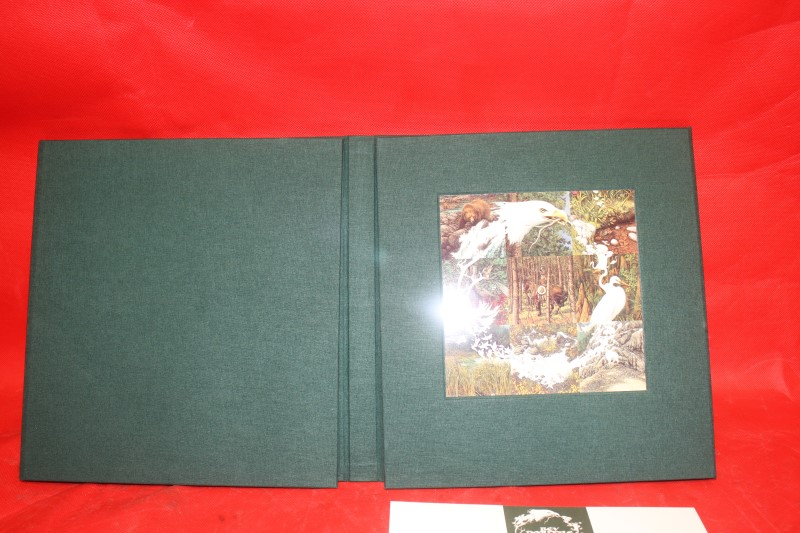 Bev Doolittle Sacred Circle Chapbook and Walk Softly print MSRP $395