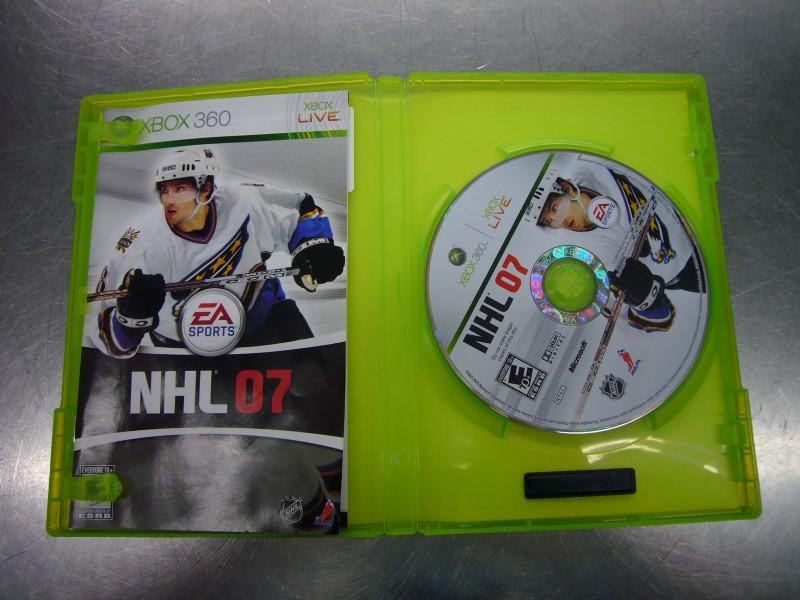 MICROSOFT Microsoft XBOX 360 Game NHL 07