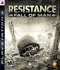 SONY PS3 RESISTANCE FALL OF MAN