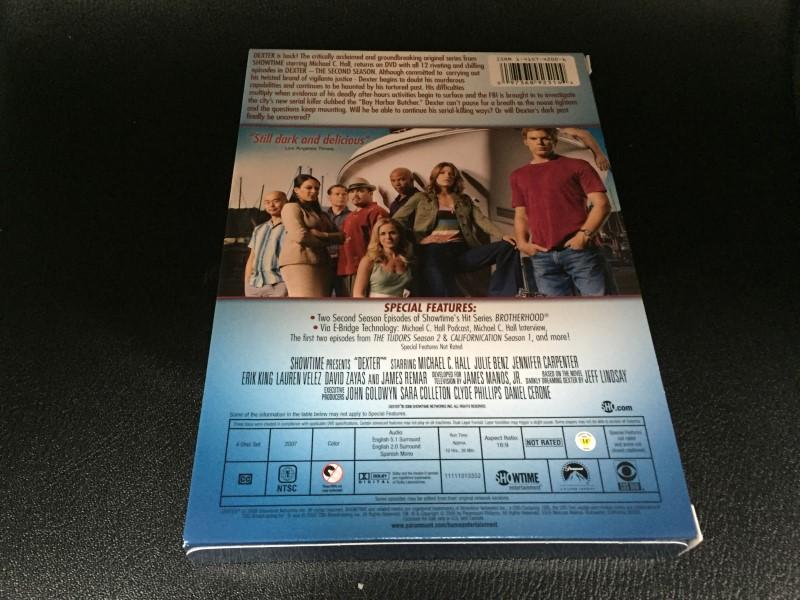 DEXTER, SEASON TWO, TV SERIES DVD