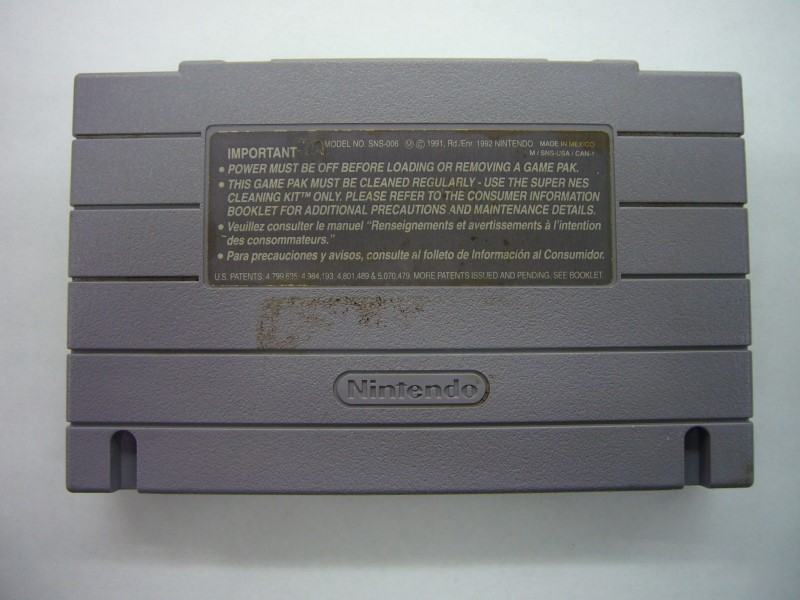 """NINTENDO SNES SUPER PINBALL BEHIND THE MASK """"GAME ONLY"""""""
