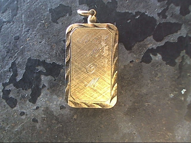 Gold Pendant 10K Yellow Gold 3dwt