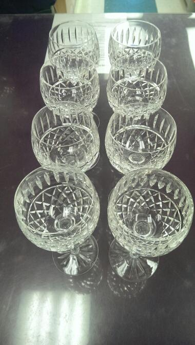 WATERFORD Glassware MAEVE 7.5 WINE HOCK GLASSES SET OF 8