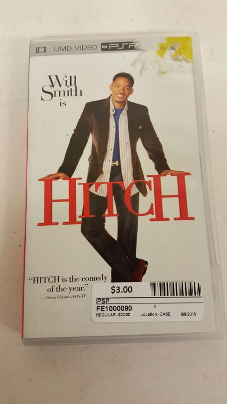 Hitch UMD video, 2005 PSP--FREE SHIPPING
