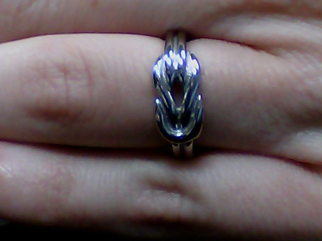 Lady's Ring Silver Stainless 3g