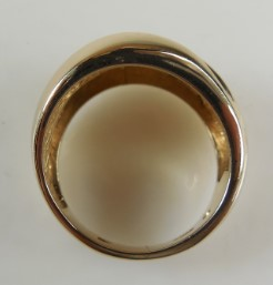 Lady's Gold Ring 14K Yellow Gold 5.9g Size:6.3