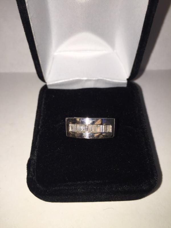 Lady's Platinum Diamond Fashion 11 Diamonds .66 Carat T.W. 950 Platinum 7.2dwt