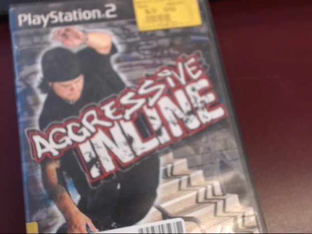 SONY PS2 AGGRESSIVE INLINE