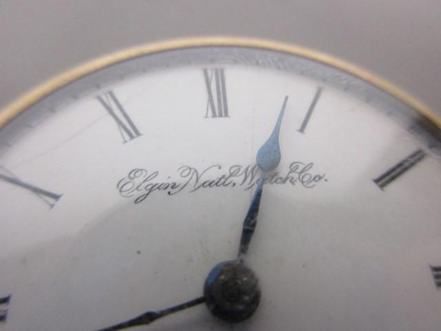 ANTIQUE ELGIN POCKET WATCH, 1891, 11 JEWEL, SIZE 18S, GRADE 10, RUNS GREAT!