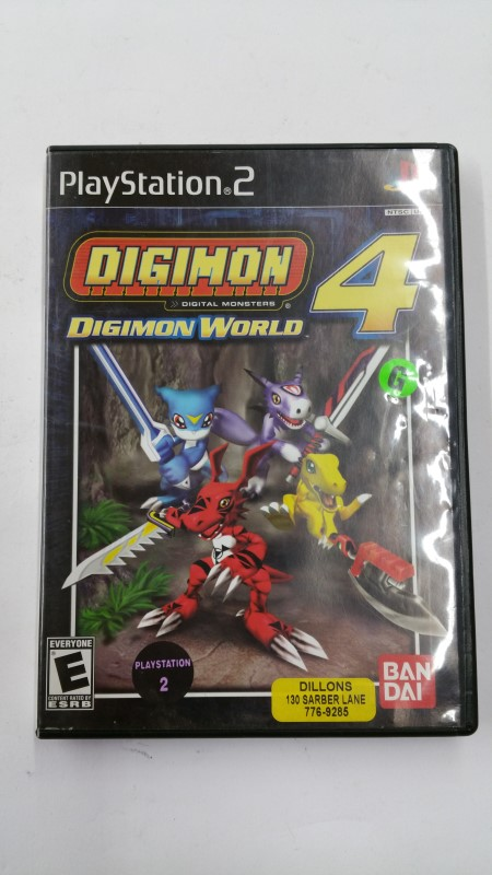 Digimon World 4 for Playstation 2
