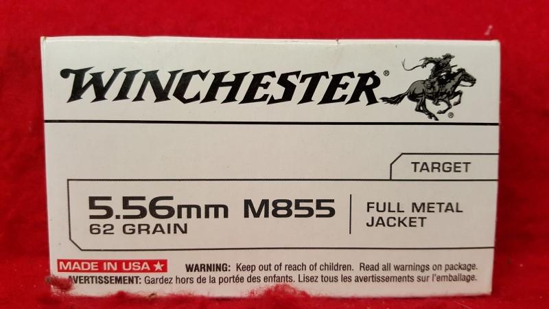WINCHESTER Ammunition M855