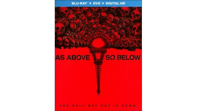 SONY BLUE RAY Blu-Ray AS ABOVE SO BELOW