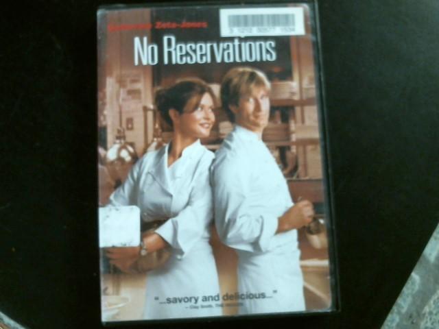 DVD MOVIE DVD NO RESERVATIONS
