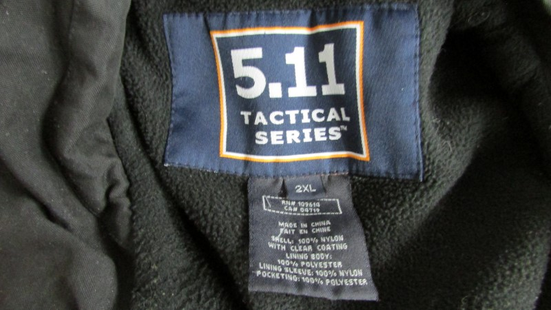 5.11 TACTICAL Coat/Jacket SERIES JACKET