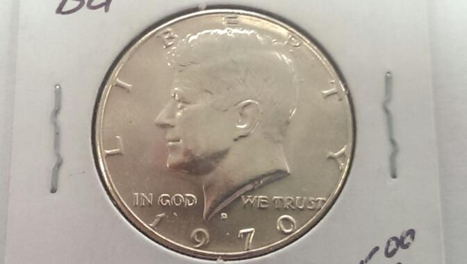 1970 D KENNEDY HALF DOLLAR