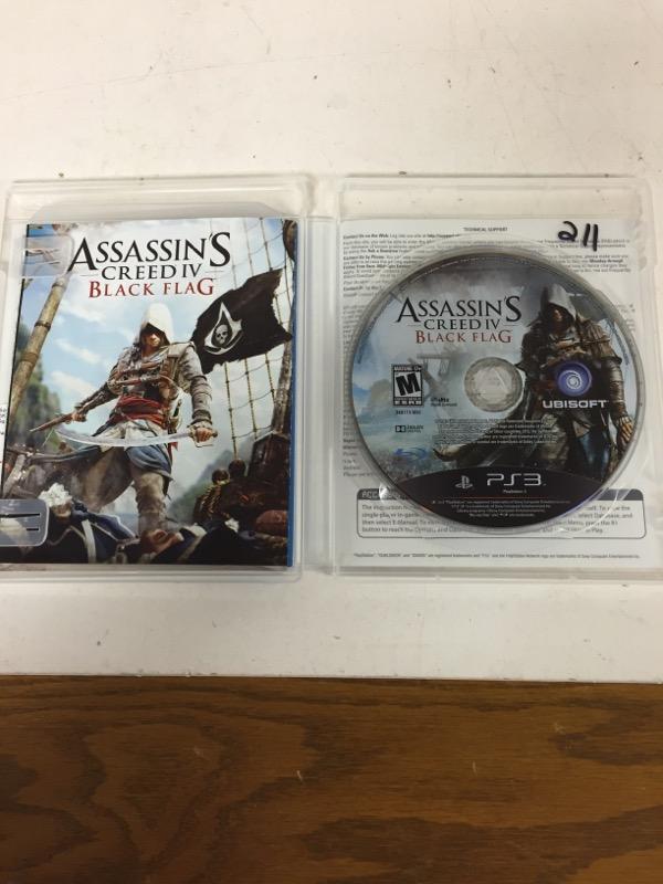 Assassin's Creed IV: Black Flag (Sony PlayStation 3, 2013)