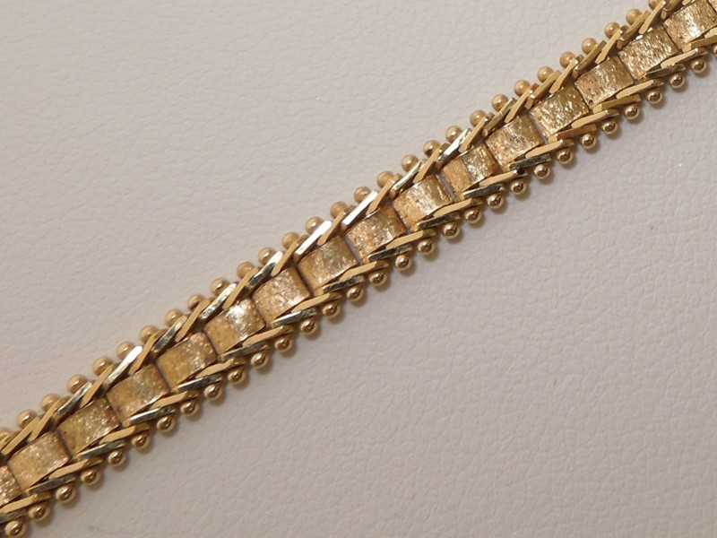 Gold Fashion Bracelet 14K Yellow Gold 10g