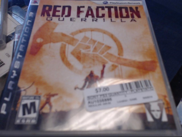 SONY PS3 RED FACTION GUERRILLA
