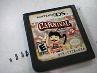 NINTENDO Nintendo DS Game CARNIVAL GAMES FOR DS