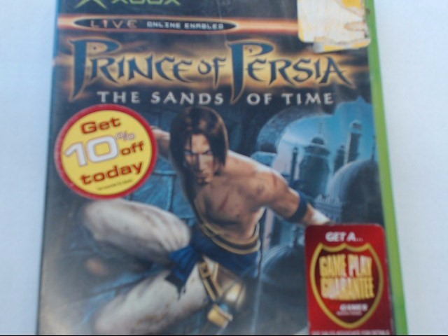 XBOX - PRINCE OF PERSIA THE SANDS OF TIME