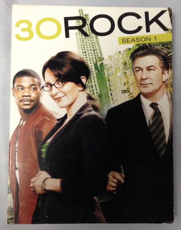 DVD BOX SET 30 ROCK SEASON ONE 2007 3-DISC SET