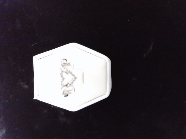Lady's Diamond Cluster Ring 17 Diamonds .17 Carat T.W. 14K White Gold 1.9g