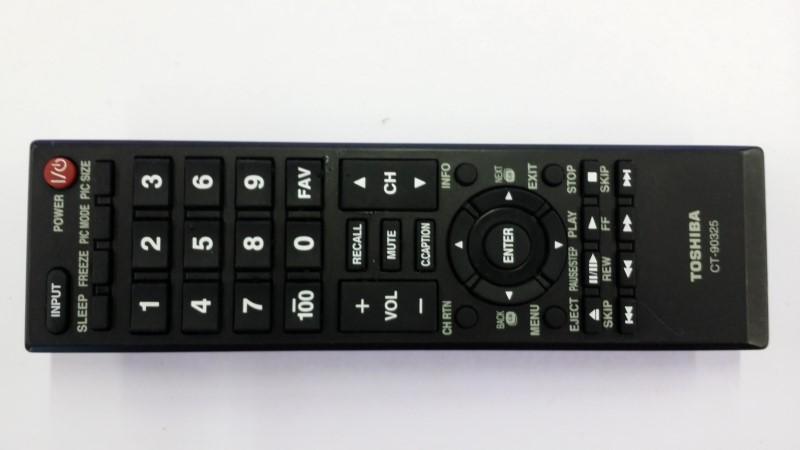 Genuine Toshiba CT-90325 LCD TV Remote Control