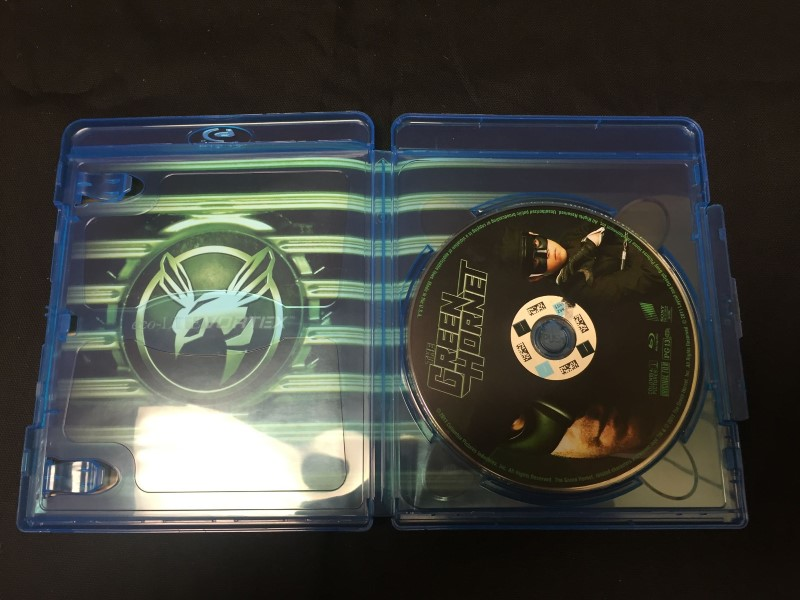 BLU-RAY MOVIE Blu-Ray THE GREEN HORNET