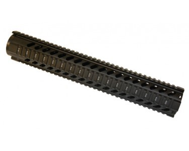"GUNTEC 15"" Free Floating Quad Rail"