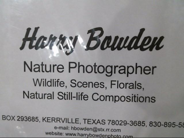 HARRY BOWDENS