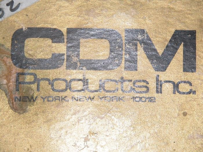 CDM PRODUCTS INC