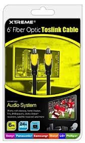 XTREME Computer Accessories 73506 OPTICAL CABLE 6FT
