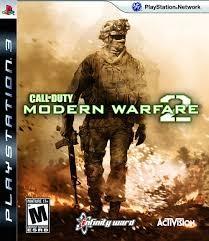 SONY Sony PlayStation 3 Game PS3 MODERN WARFARE 2