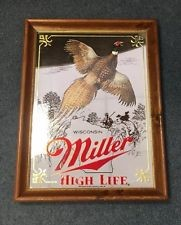 MILLER HIGH LIFE Sign PHEASANT