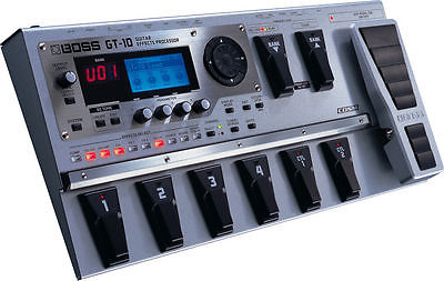 BOSS Effect Equipment GT-10