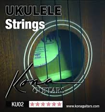 KONA Musical Instruments Part/Accessory UKULELE STRINGS KU02