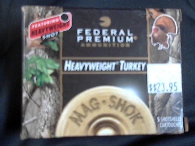 FEDERAL AMMUNITION Ammunition 20 GA HEAVYWEIGHT TURKEY