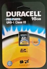 DURACELL DU-SD1016G-R  -16GB-