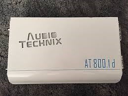 AUDIO TECHNIX Car Amplifier AT800.1D